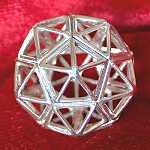 Icosahedron pendant jewelry