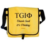 Thank God It's Phiday Messenger Bag for those who love phi, the golden ratio