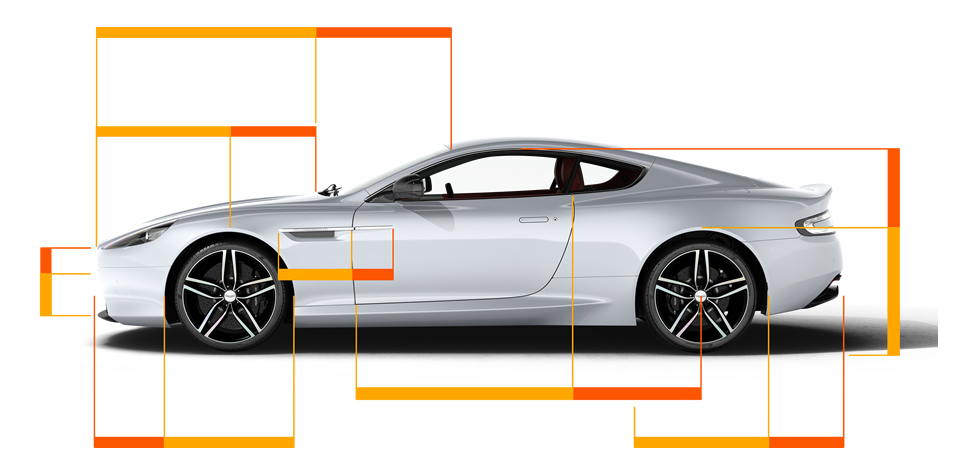 Lovely Aston Martin Db9 Golden Ratio Design Proportions