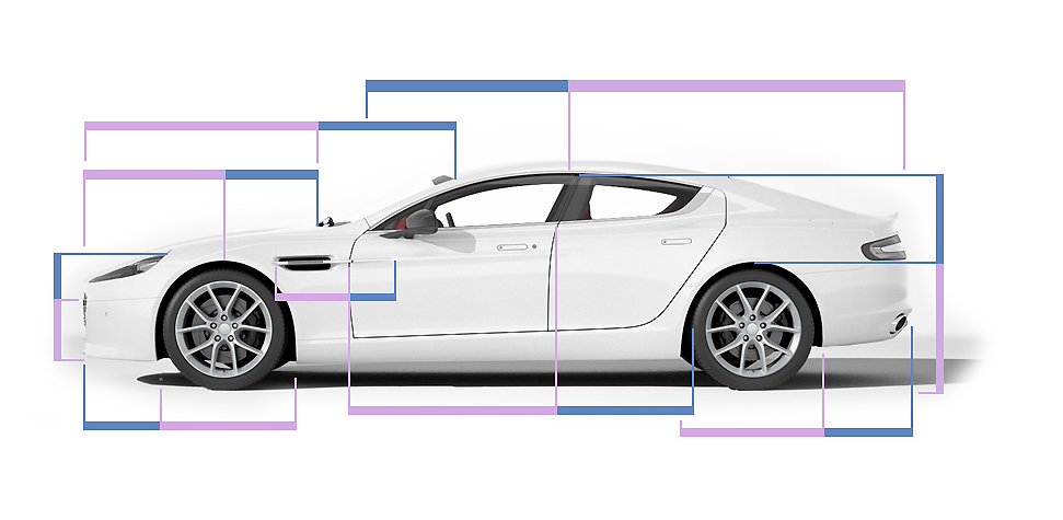Aston Martin Rapide S Golden Ratio Design Proportions