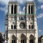 Notre Dame in Paris illustrating golden ratios