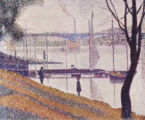 Georges-Seurat-Bridge-of-Courbevoie