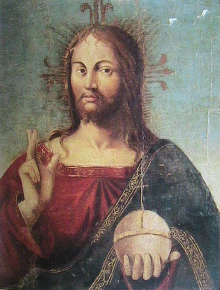 Leonardo Da Vinci Salvator Mundi >> Leonardo Da Vinci, Salvator Mundi and the Divine Proportion