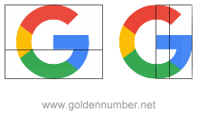 Google G Logo Golden Ratio