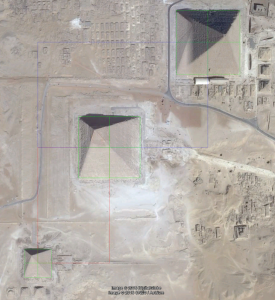 Great-Pyramid-complex-two-golden-rectangles-satellite-image