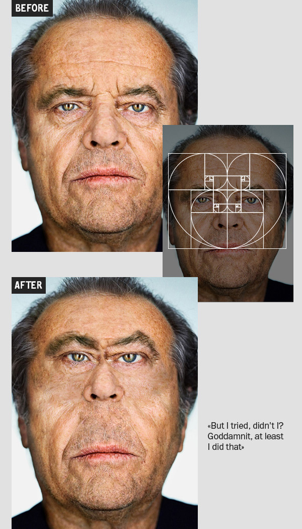 Celebrity faces and the golden ratio this time for real when a joke becomes science then science becomes a joke ccuart Image collections