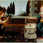Leonardo-da-Vincis-The-Annunciation-divine-proportion