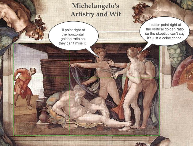 Michelangelo-Noah-golden-ratio-artistry-and-wit