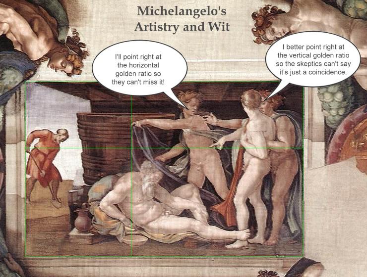 Michelangelo-Noah-golden-ratio-artistry-and-wit