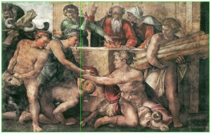 Michelangelo_Noah_Sacrifice-golden-ratio
