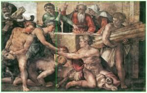 Michelangelo_Noah_Sacrifice-golden-ratio