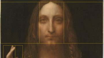 Leonardo Da Vinci, Salvator Mundi and the Divine Proportion