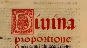 Da Vinci and the Divine Proportion in Art Composition