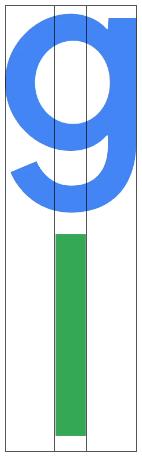 google-logo-lower-case-g-to-l-golden-ratio