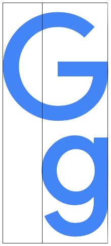 google-logo-upper-case-G-to-lower-case-g-golden-ratio