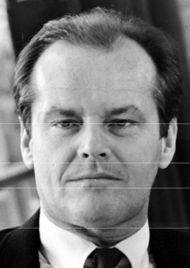 horizontal golden ratio jack nicholson