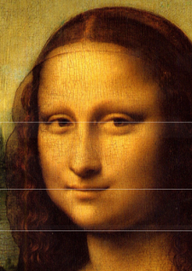 horizontal golden ratio mona lisa