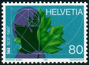 stamp-switzerland-golden-section