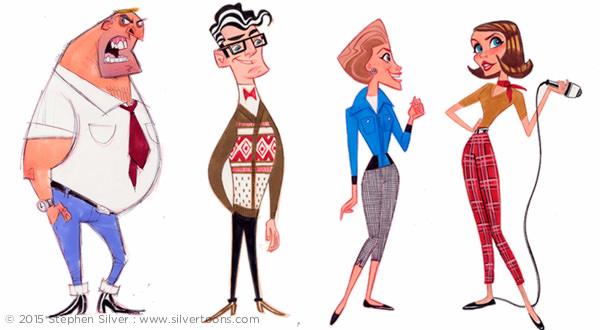 Character Design For Cartoon : Golden ratio in character design caricatures and cartoons
