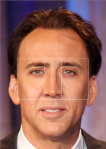 vertical golden ratio nicholas cage